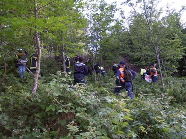 Uebung Personensuche Wald und Rehetobel Feuerwehr 2007 31.jpg.jpg