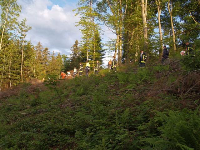 Uebung Personensuche Wald und Rehetobel Feuerwehr 2007 32.jpg.jpg