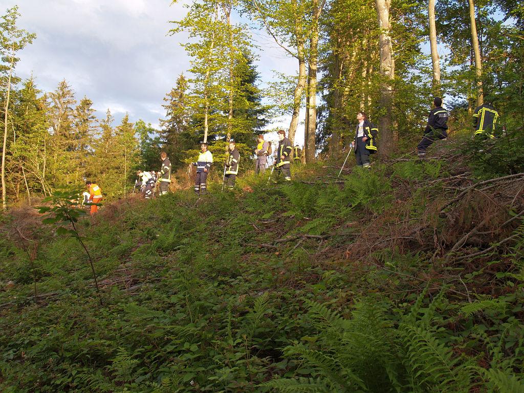 Uebung Personensuche Wald und Rehetobel Feuerwehr 2007 34.jpg.jpg